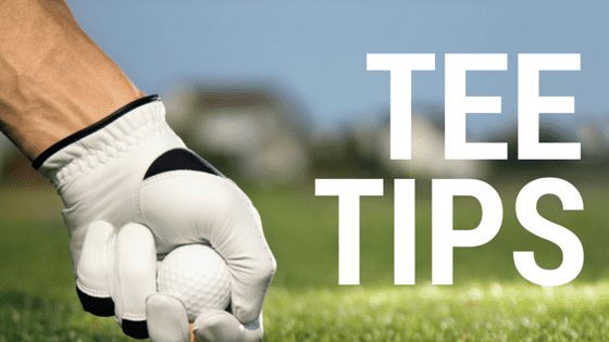 TEE TIPS FOR THE GOLF GREEN THIS SUMMER